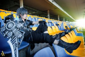 Noctis from Final Fantasy XV by Alan by AndyWana