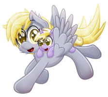 Derpy and Dinky [vector] by Sol-Republica