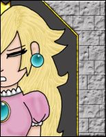 Princess Peach - Trapped by lil-mikoto