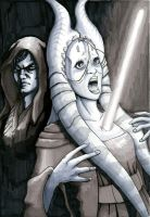 Anakin Murders Shaak Ti by Dre0083