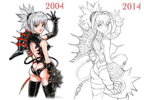 Shadow lady 2004-2014 by Felsus