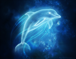Dolphin Patronus by Searii