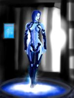 HALO 4 Cortana waits for Chief by jose144