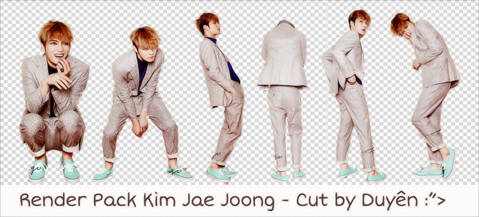 [JaeJoong] Render_Pack_#34 by daothuyduyen