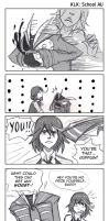 KLK: Senketsu Goes to School 18 by carrinth