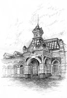 Old Station by Shiro-Rin