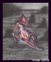 Pyramid Head Brushed 2 by BoOgEyMaN435