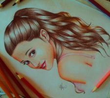 Ariana Grande Illustration by AlefVernon