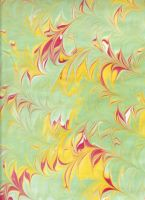 Paper Marbling 5 by approachableart
