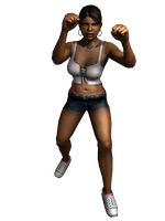 Def jam fight for NY - Shaniqua by deant01