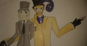 Ace and Top Hat! by Perianth5