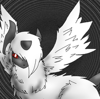 Mega Absol by prussiawashere999