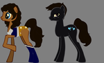 Pony Me and Shinie!!!! (EVEN LARGER FILE, I THINK) by Clonetroopsrule344