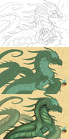 Windsinger Progress by Lanasy
