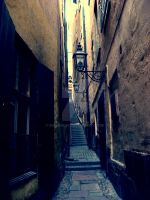 Old town, Stockholm by Maionara