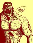 Red Hulk by Gle4se