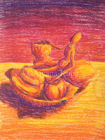 Practice Still Life: Fauvism - Oil Pastels by Aiyana-Kopa