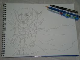 W.I.P - Supreme King or Haou Armor by MistressChi08