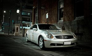 Nissan v35 Skyline 350gt Coupe 5 by heeeeman