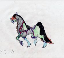 Zilla0001 by BlackMare234