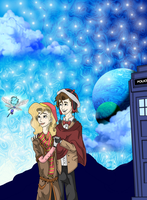 The Doctor and The Archeologist by LivingAliveCreator