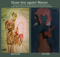 Draw This Again! by Melancholy-Meloy