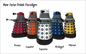 New Dalek Paradigm by VoteDave