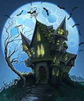 Haunted House by curlyhair