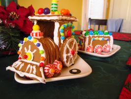 Gingerbread Train by xoSoul