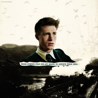 COLTON HAYNES - SLYTHERIN by archiburning