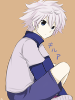 Killua by OrangeCornPuff