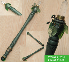 Wand of the Forest Mage by Natfoe
