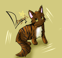 Chibi Cat Commission DragonStar by LuckyCatXD