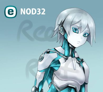 [Program Girl] NOD32 by Reef1600