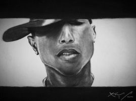 Pharrell by karl-anthony