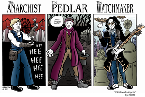 The Anarchist, The Pedlar, and The Watchmaker by spburke