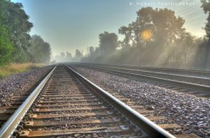 Fog on the Rails by rpieratt