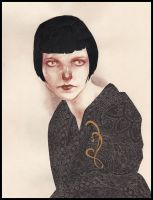 Louise Brooks II by LucitaniaMarie