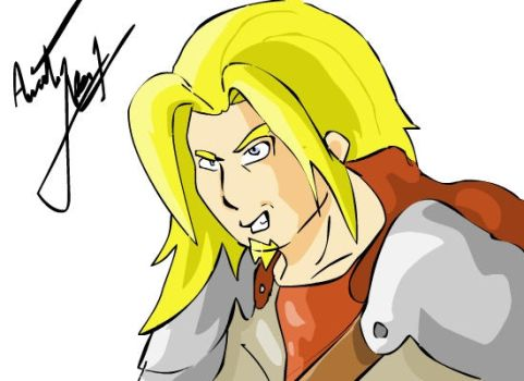 Vincent- Drawn with Tablet by Niss33