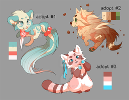 cub/pup adoptables by azzai