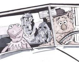 Muppet Movie by monstercola