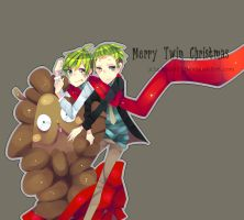 Merry Twin Christmas by Lukascchi