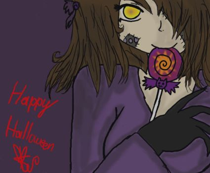 Happy Halloween.. by Coco-Apple