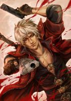 Dante Devil May Cry by brains21