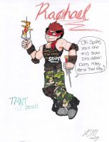 Raphael TMNT-2012 by DogDemonAbridged12