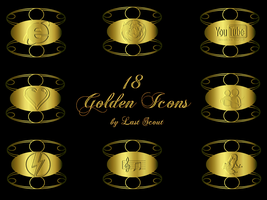 Golden Icons by LastScout