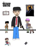 Nostalgia Critic ColoringInking by jc013