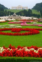 Gardens of Schonbrunn by gdphotography