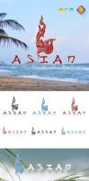 Asian Lounges Logo Template by LuisFaus