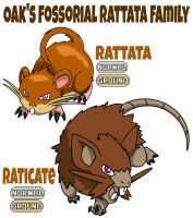Rattata Family by ajkent14z